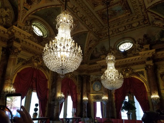 The Breakers Double Chandelier In Dining Room