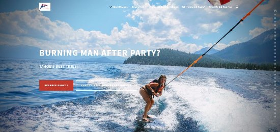 Homewood, CA: Best Burning Man After Party? tahoejetboats.com !