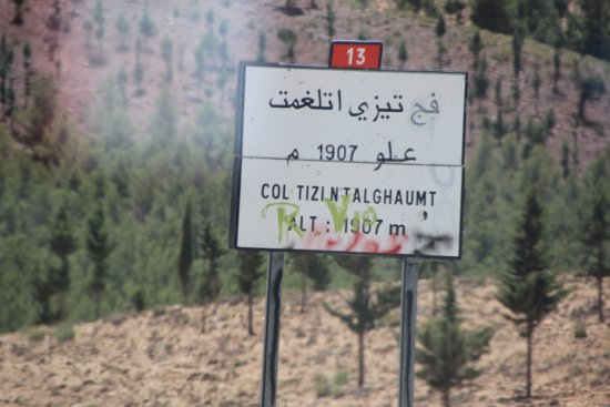 Marrakech-Tensift-El Haouz Region, โมร็อกโก: Altitude marker