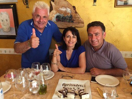 Crecchio, Italia: Tonino e il suo regno!