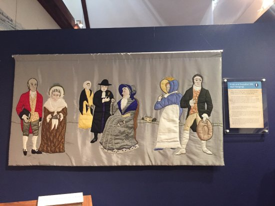 The Jane Austen Centre: Pride and Prejudice tapestry