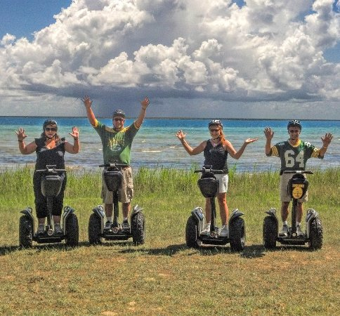Sister Bay, WI: Ride an off-road Segway to beautiful Sand Bay Beach located along the shores of Lake Michigan.