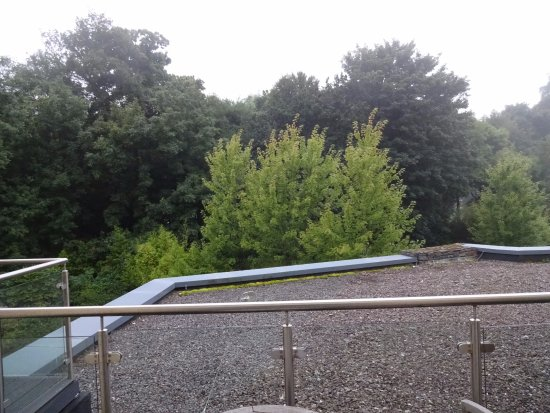 Fota Island, Ireland: Our balcony, private and quiet
