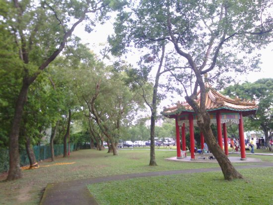 Taoyuan, Taïwan : 草坪一隅