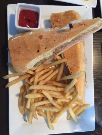 Indialantic, FL: Authentic cuban sandwich and fries
