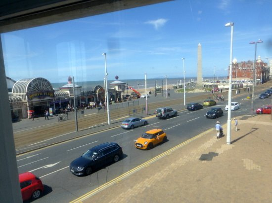 Ibis Styles Blackpool: room with a view
