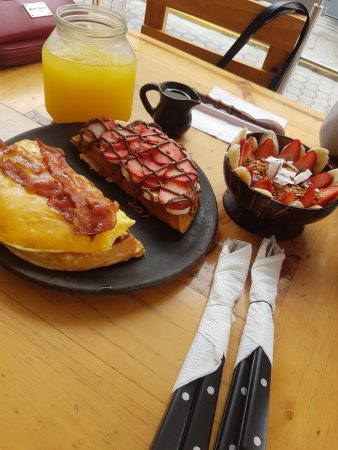 El mejor desayuno... Ingredientes super frescos y deliciosos. Seguro querras repetir!