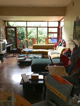 Lezard Bleu: Comfortable living room