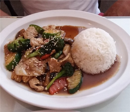 North Fort Myers, FL: Thai Teryaki Beef for lunch.