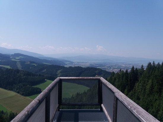 Styria, Avusturya: Wipfelwanderweg