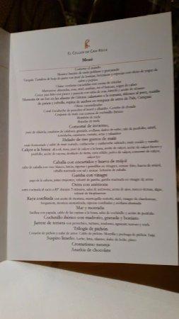 Menú Festival Celler de Can Roca