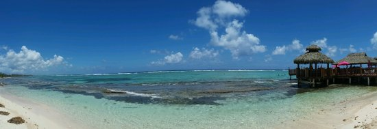 Bodden Town, Grand Cayman: View from the beach