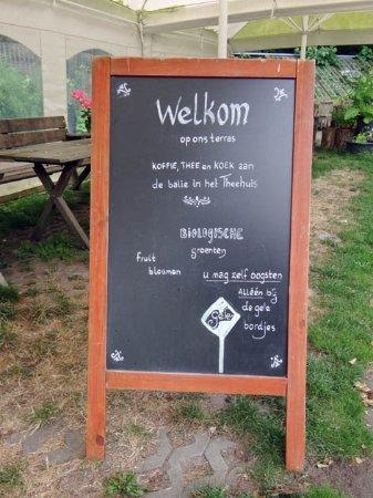 Utrechtse Heuvelrug, Nederland: info board