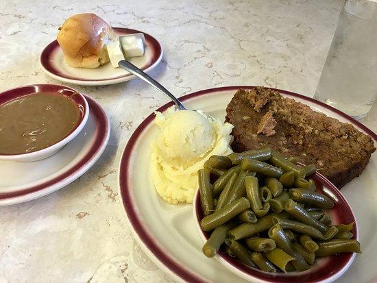 Bethesda, MD: Mmmm meat loaf!