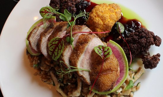 MAPLE LEAF FARMS DUCK BREAST - Picture of MoZaic, Sarasota
