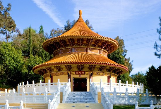 Hacienda Heights, Καλιφόρνια: Memorial Pagoda of Hsi Lai Temple