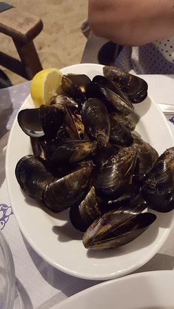 Magnesia Region, Grèce : Steamed mussels