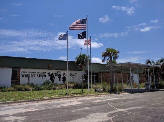 Camp Gordon Johnston Museum: Entrance