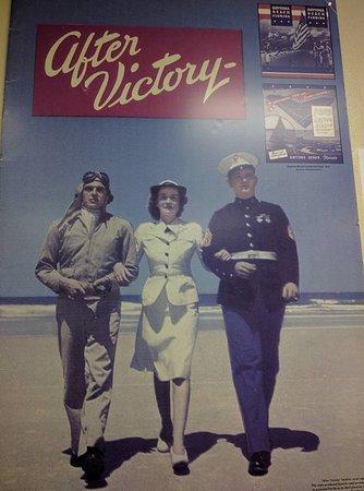 Camp Gordon Johnston Museum: Display
