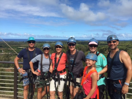Kahuku, HI: Our Climb Works Adventure!
