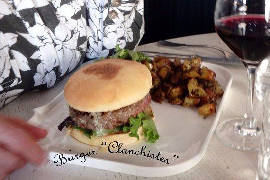 """Fontenay-sous-Bois, Γαλλία: Burger """"Clanchistes"""""""