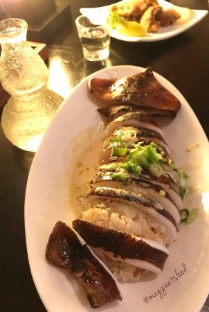 Tanto Japanese Restaurant : Jumbo squid stuffed with rice