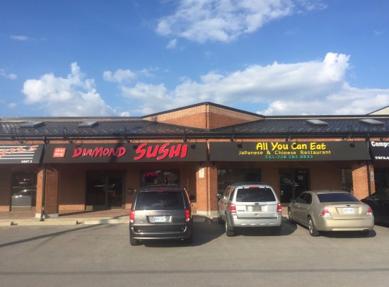 Konoe Sushi permanently CLOSED.  Replaced by Diamond Sushi All You Can Eat Japanese & Chinese Re