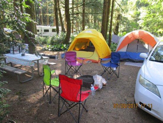 Otter Rock, Oregón: Camping area
