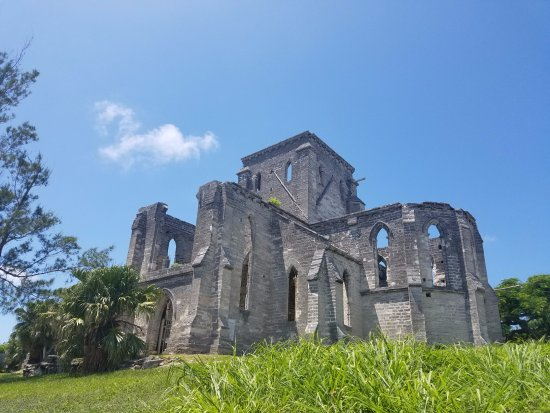 St. George, Bermuda: Unfinished church