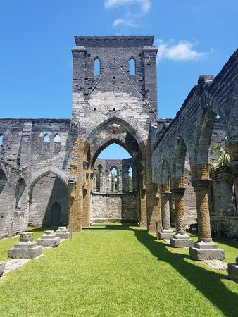 St. George, Bermudy: Unfinished church