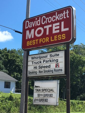 Davy Crockett Motel Lawrenceburg Tn