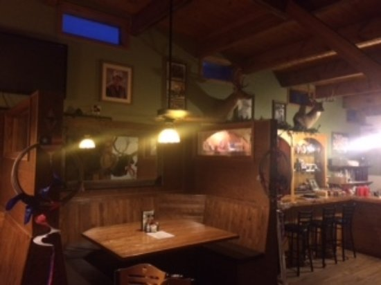 Ridgway, CO: cowboy atmosphere- this is the upstairs loft dining