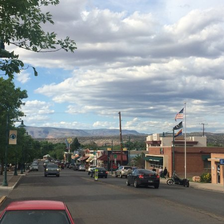 Located in Old Town Cottonwood, Main street U.S.A