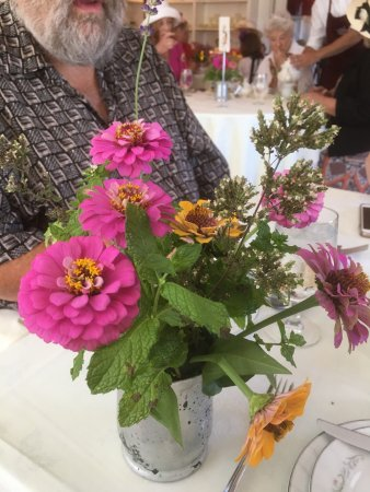 Berryville, VA: Elegant tea with seasonal flowers