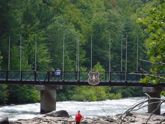 Copperhill, TN: the bridge