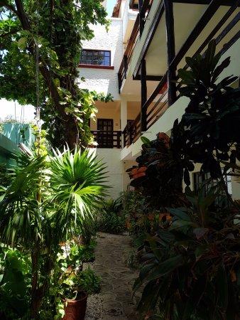 Hotel el Moro: Vista del interior