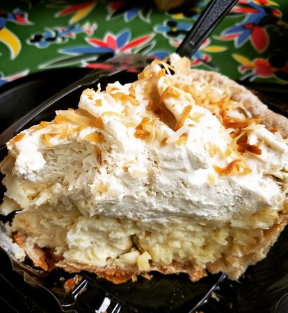 Blanco, TX: Coconut Cream Pie - the real deal