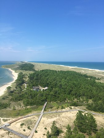 View from the top of the light house