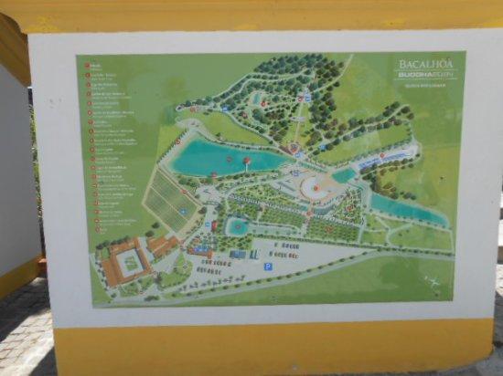 buddha eden mapa Mapa do parque   Picture of Bacalhoa Buddha Eden, Bombarral  buddha eden mapa