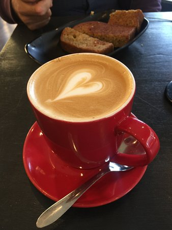 Ashfield, Australia: flat white coffee