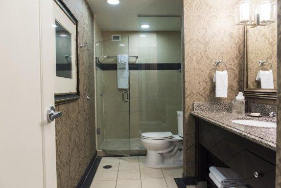 The Skirvin Hilton Oklahoma City: Suite Shower