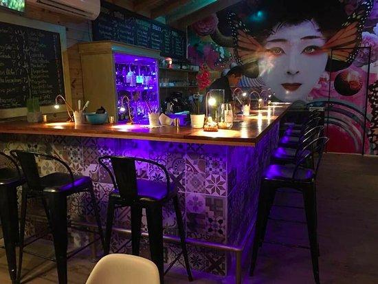 Ojochal, Costa Rica: El bar!