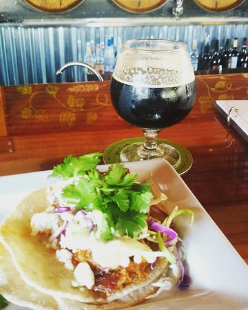 Aloha, OR: Nitro Old Rasputin and Happy Hour Street Tacos. Perfect summer afternoon.