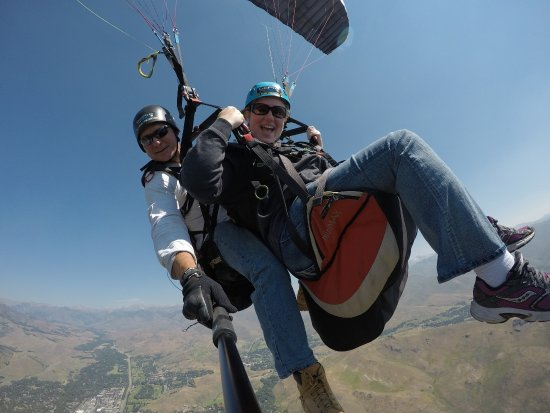Ketchum, ID: Flying high with Chuck