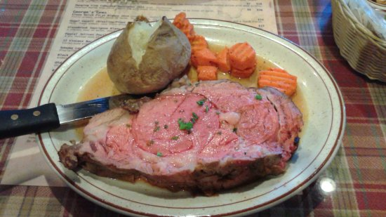 Chestertown, NY: The prime rib special.