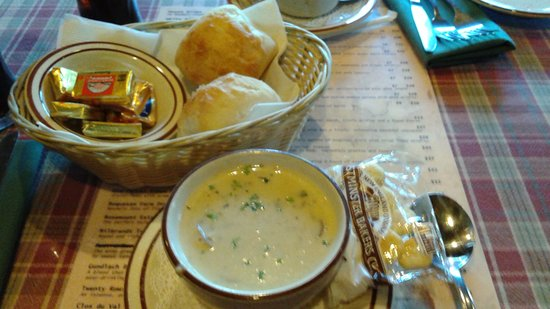 Chestertown, NY: One of the best mushrooms soups I've ever had.