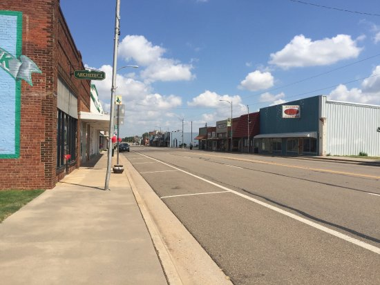 Shamrock, TX: Main Street