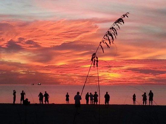 Sunset at Boca grande