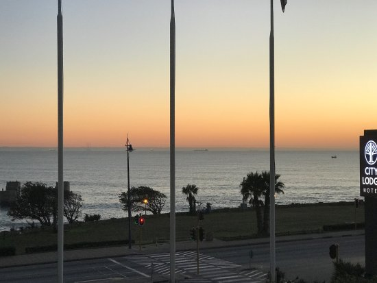 City Lodge Hotel Port Elizabeth: Early morning view in August 2017