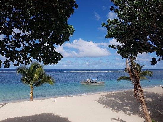 Lalomanu, ซามัว: North end of beach